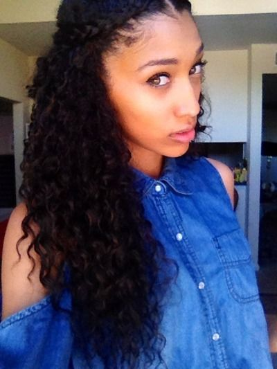 389 Best Images About Curly Hair Don't Care On Pinterest