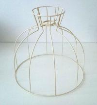 Originele vintage / antieke lampenkap frame. lampen kap ...