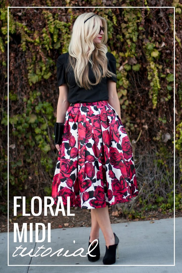 12 Skirt Tutorials for Women – seven thirty