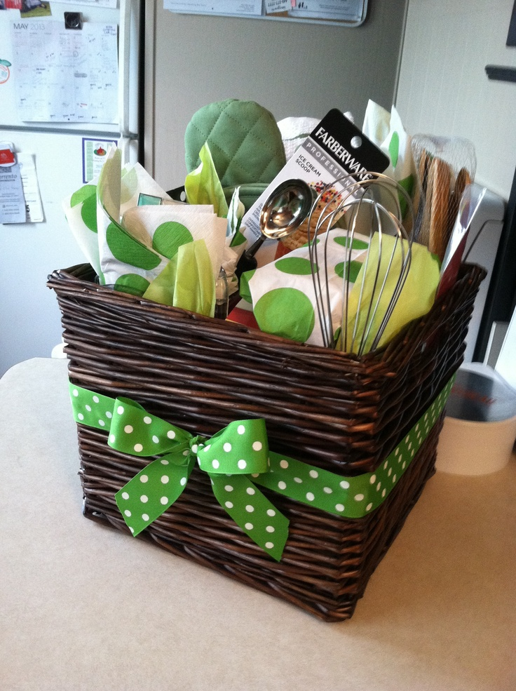 125 best images about Gift Baskets on Pinterest  Kitchen