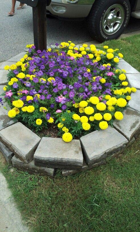 flower garden mailbox