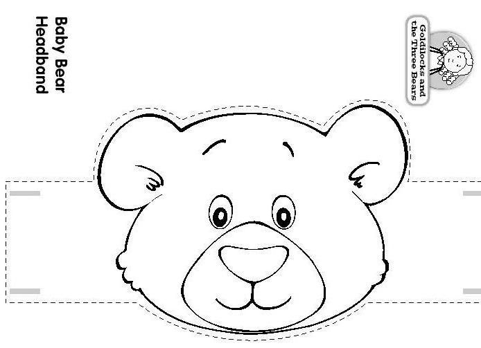 Goldilocks Puppet Coloring Coloring Coloring Pages