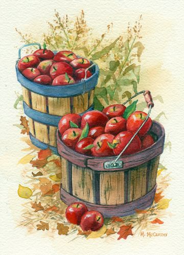 ideas apple baskets