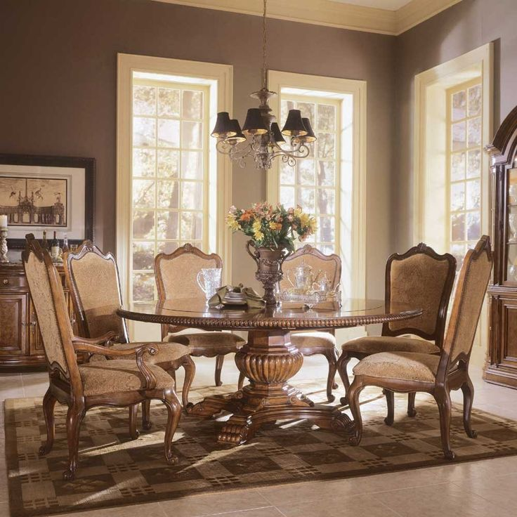 big round formal dining room tables  Buy Villa Cortina