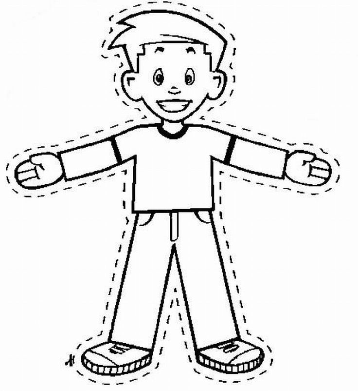Flat Stanley: add kids picture to the top to become