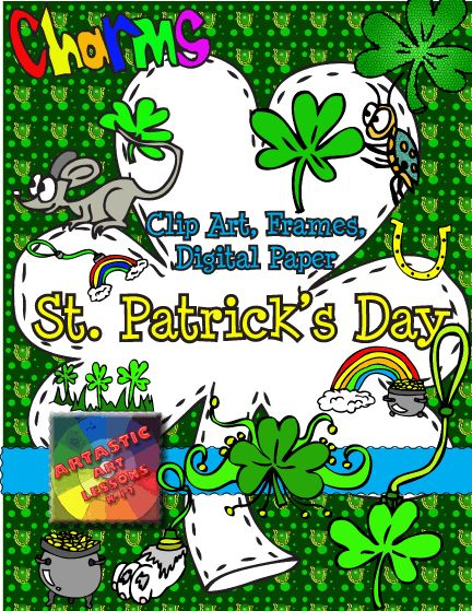 1000 images about St Patrick39s Day Clip Art on Pinterest