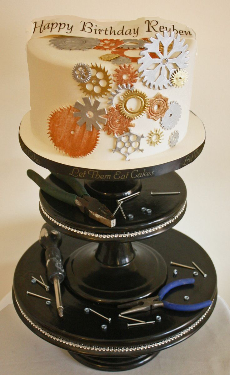This Cake Was For A Mechanical Engineer So Cute Cakes