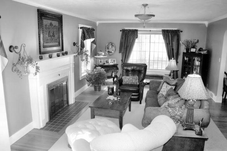 Long Narrow Living Room Furniture Arrangement