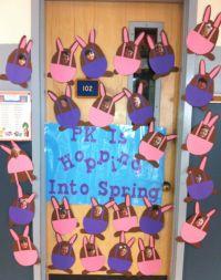 Easter bulletin board idea or classroom door decoration ...