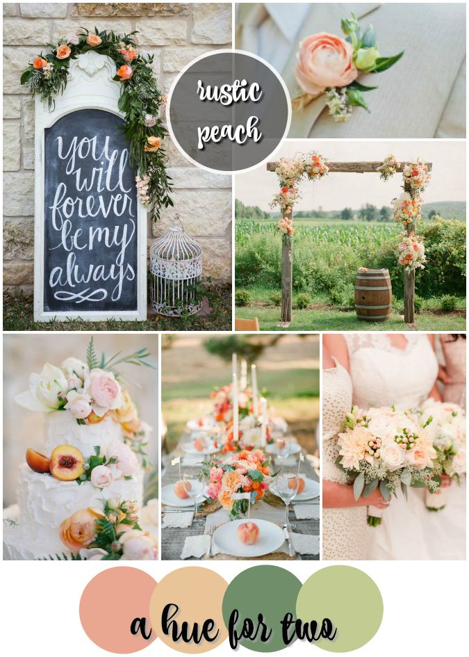 17 Best ideas about Rustic Wedding Colors on Pinterest