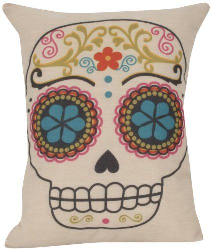 1000+ images about Sugar Skull Throw Pillows