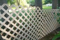 Installing A Lattice Fence - WoodWorking Projects & Plans