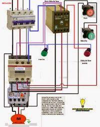 motor wiring diagrams 3 phase sabs diagram trailer plug 5 core esquemas eléctricos: rele de secuencia asimetrica falta fase | eléctricos pinterest