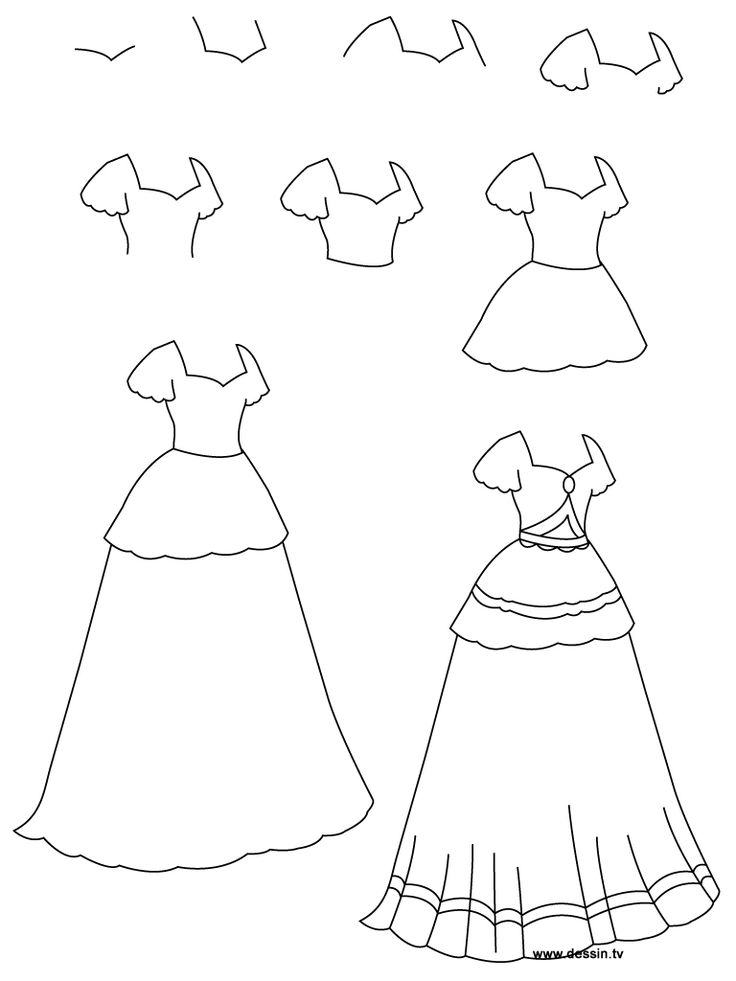 Drawings Of Clothes Easy How To Draw Clothes For Beginners Drawn