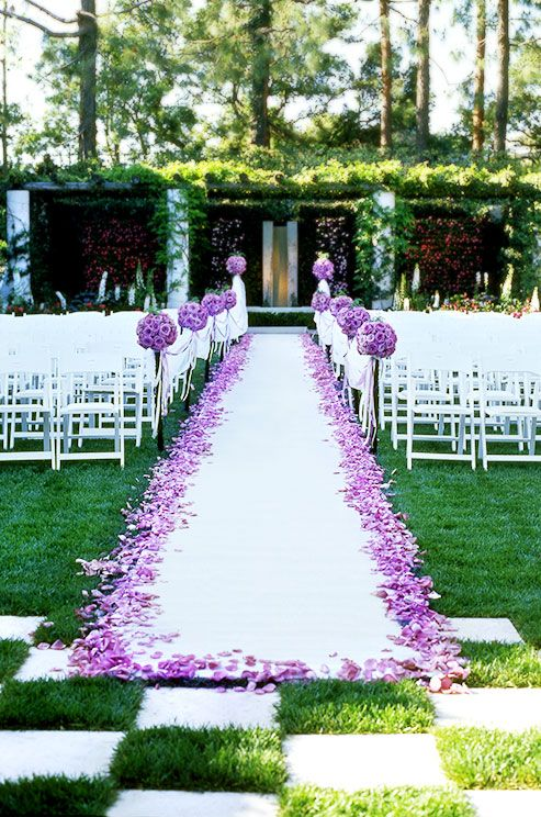 25 Best Ideas About Wedding Aisles On Pinterest Outdoor Wedding