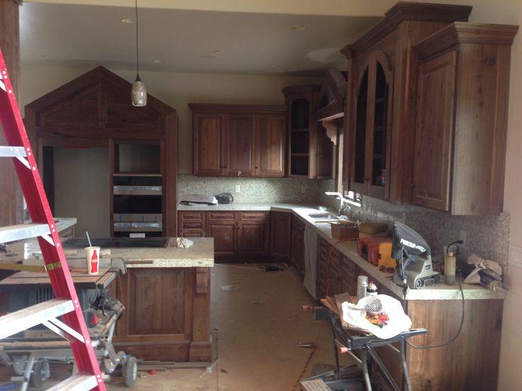 Natural Walnut Kitchen Cabinets Idaho  Something for