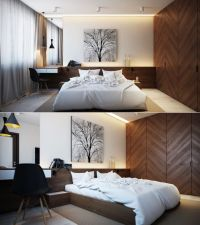 Bedroom:Charming And Nature Themed Bedroom With Wooden ...
