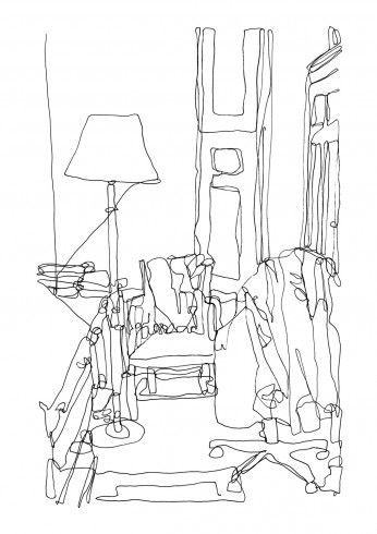 205 best images about continues line drawing on Pinterest