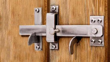 Suffolk Gate Latch Inside View Available In 316 Brushed Stainless Steel 4158 Suitable For