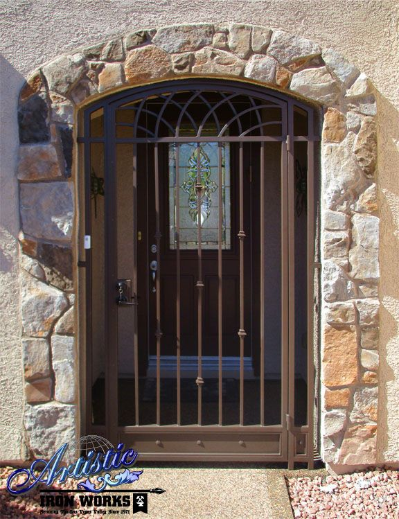 169 best images about Wrought Iron Entryways on Pinterest