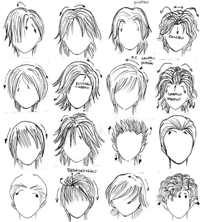 Long Hair Chibi Boy Long Hair Trend 2017