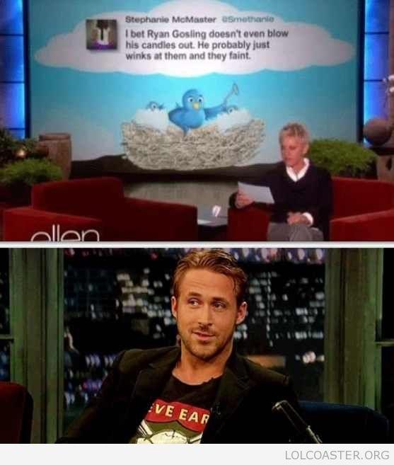 Ryan Gosling.. yes please