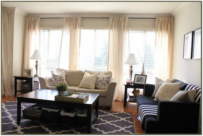 living room curtain ideas for small windows reclining pictures of window treatments 3 in a row ...