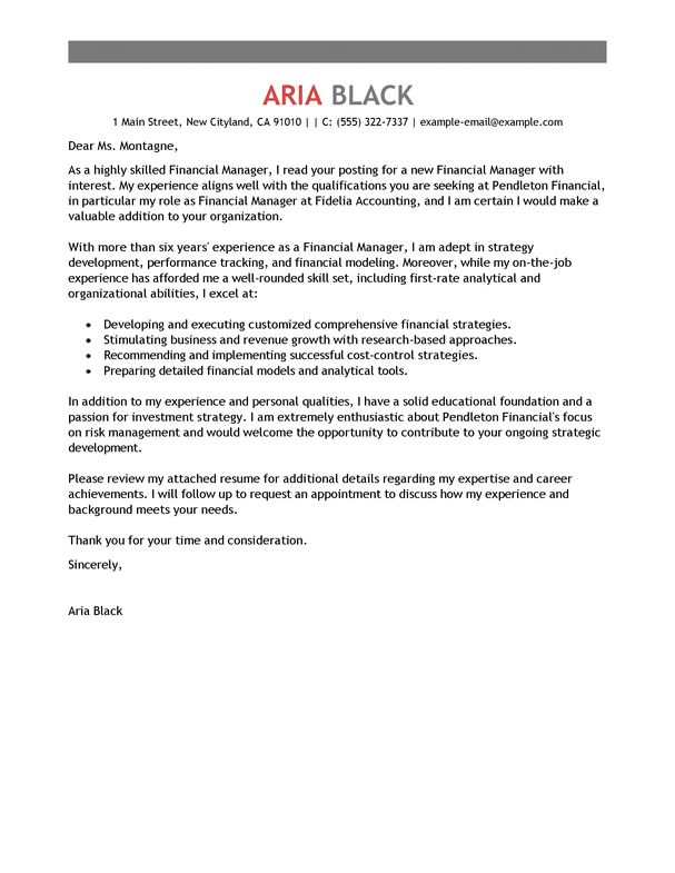 Best 25 Free Cover Letter Examples Ideas On Pinterest