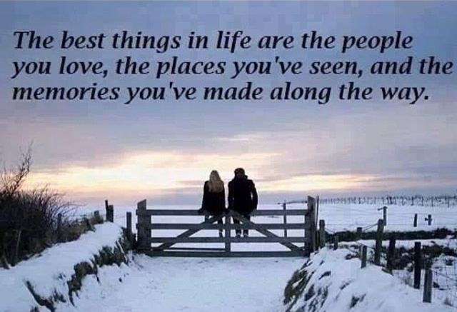 The Best Things In Life Are The People You Love, The
