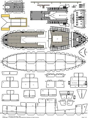 590 best images about Boats & Ships Papercraft on