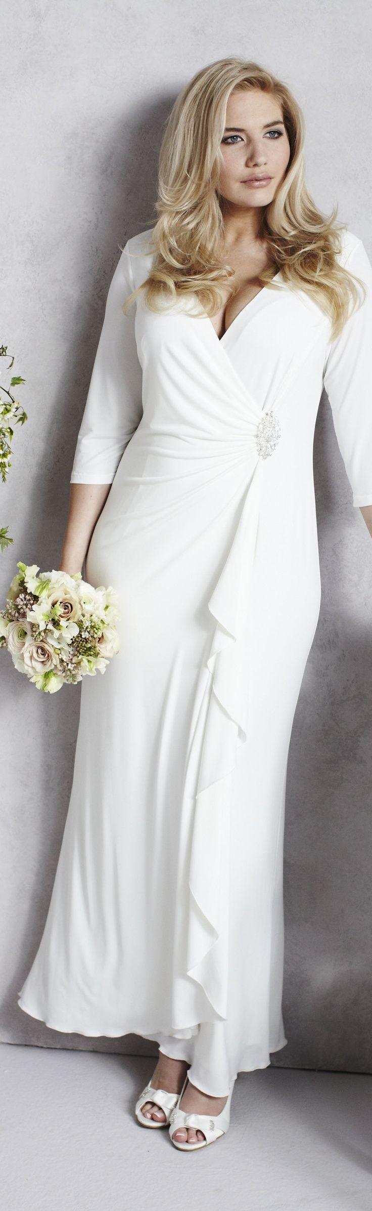 25 best ideas about Mature bride dresses on Pinterest  Mature wedding dresses Older bride and