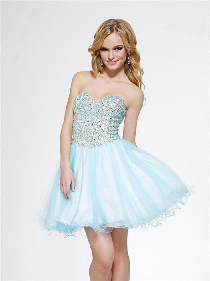 25 best ideas about Baby Blue Prom Dresses on Pinterest  Baby blue dresses Designer prom