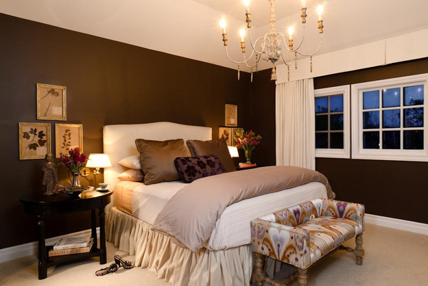 17+ ideas about Brown Bedroom Decor on Pinterest