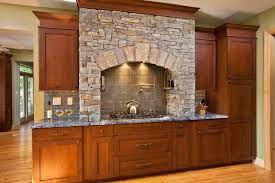 Stacked Stone Range Hood Kitchens With Stone Work Pinterest Ranges Hoods And Stones