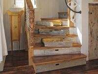 Hidden Drawer Storage in Curved Staircase | TIMBER TRAILS ...