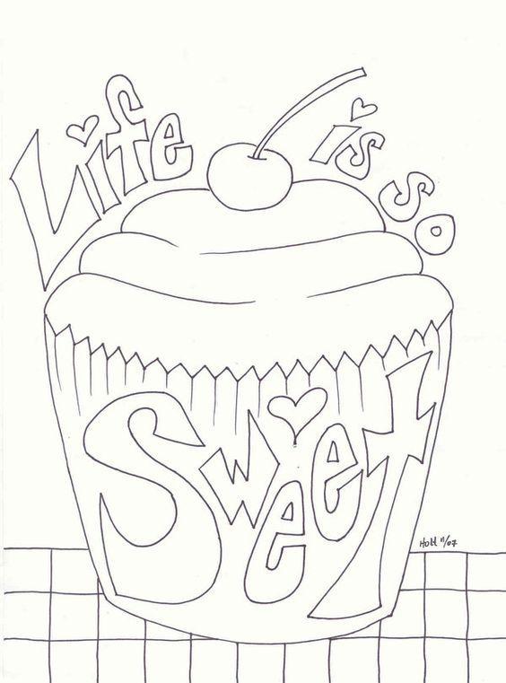 17 Best images about Risco de cupcake e sorvete on