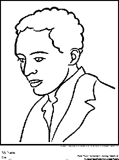 Coloring pages, Coloring and Black history month on Pinterest