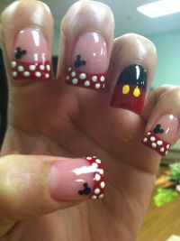 25+ Best Ideas about Mickey Mouse Nails on Pinterest ...