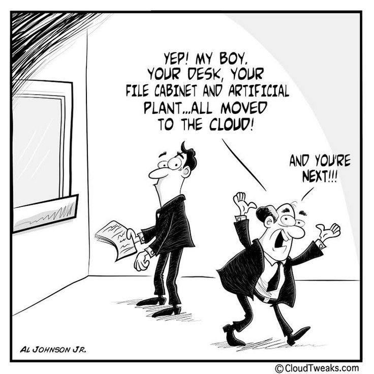 All you live could go to the cloud...? #funny #divertido