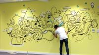 25+ best ideas about Office Mural on Pinterest | Office ...