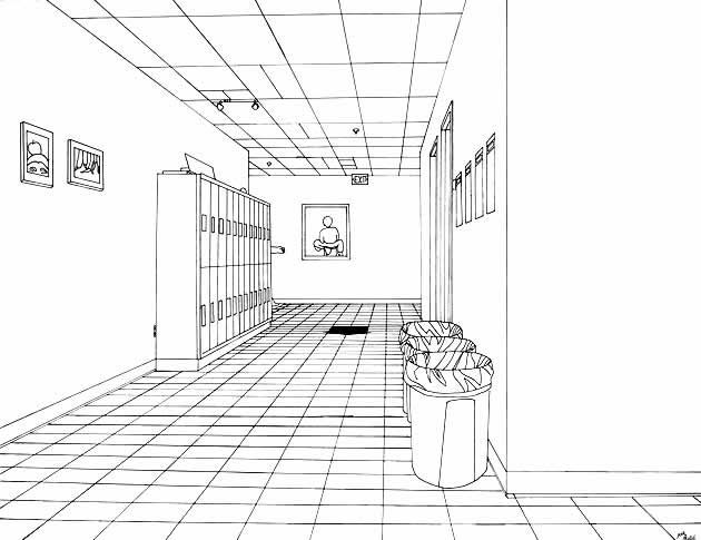17 best images about one point perspective on Pinterest