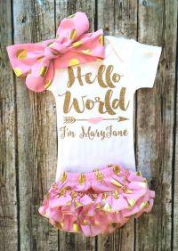 25+ Best Ideas about Baby Girl Onesie on Pinterest ...