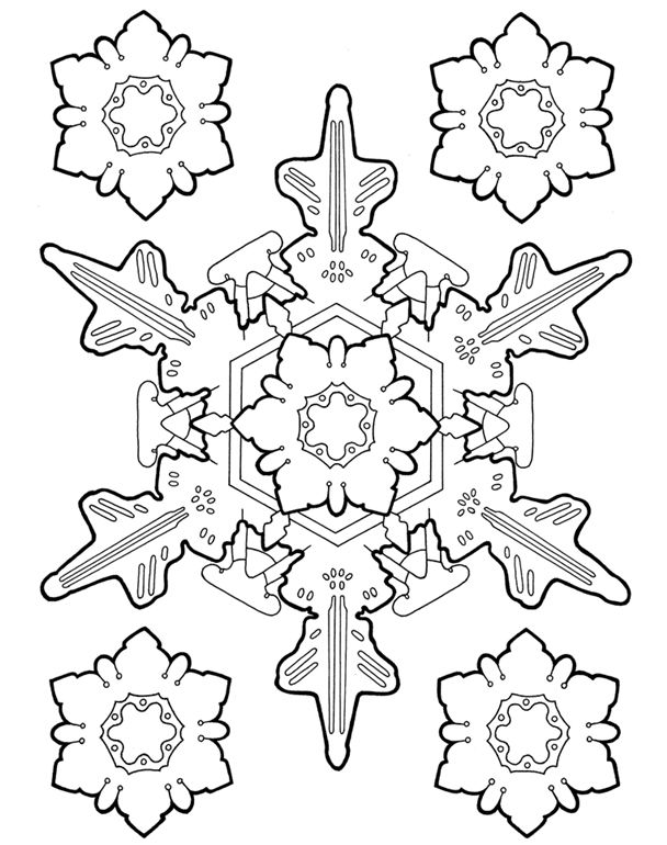 17 Best ideas about Snowflake Designs on Pinterest