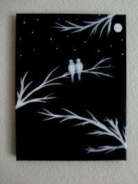 17 Best ideas about Black Canvas Art on Pinterest | Black ...