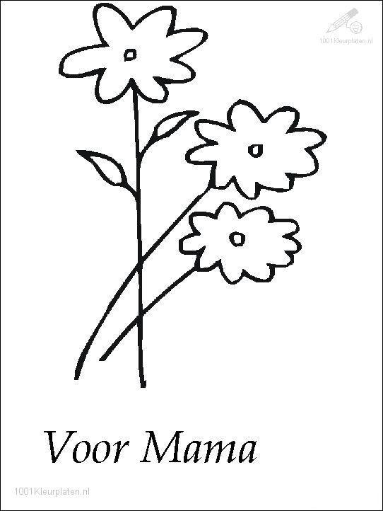 Valentijn Kleurplaten Mama.Kleurplaat Hart Valentijn Moederdag Vaderdag Auto Electrical