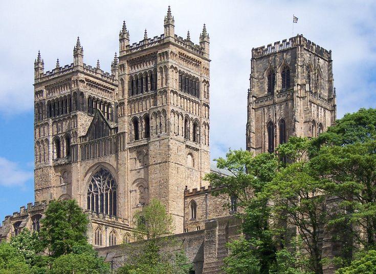 Romanesque Architecture, England  Durham Cathedral, 1093