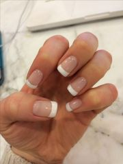 gel french manicure l