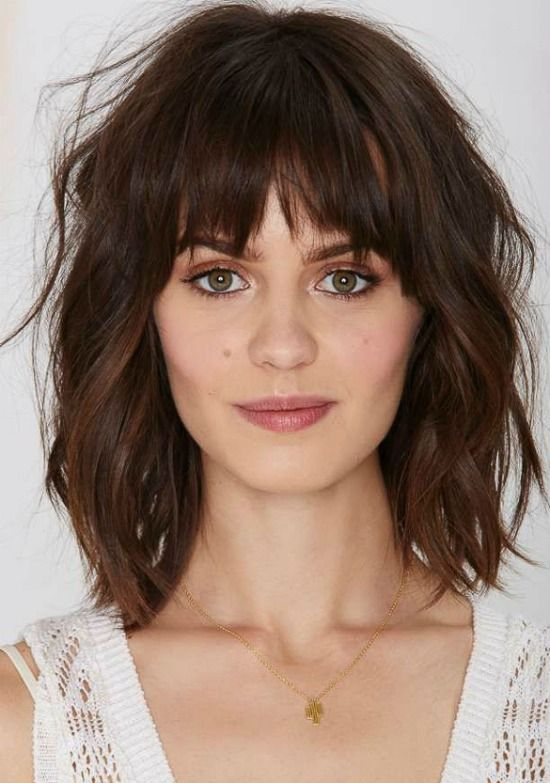 25 Best Ideas About Bob With Bangs On Pinterest Short Hair With