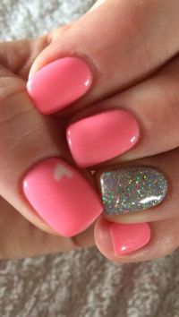 The 25+ best Pink nail designs ideas on Pinterest