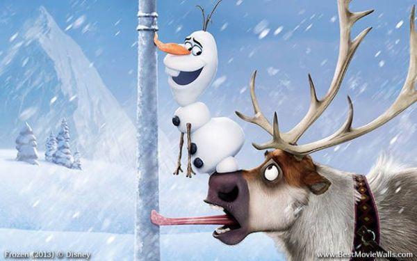 Sven and Olaf Frozen  Pinterest Disney Frozen 2013